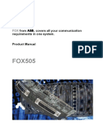 FOX505_Product_Manual_1KHW001973_Ed02as.pdf