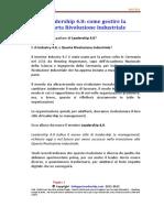 17M11A01 Leadership 4.0 Come Gestire La Quarta Rivoluzione Industriale -06!11!17 Leadership 4.0 - 01