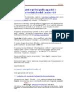 17M12A01 Scopri Le Principali Capacità e Caratteristice Del Leader 40-04-12-17 Lead 4.0