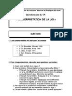 Solutionnaire Interpretation 2006