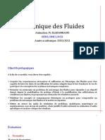 Chap4 Dynamique Des Fluides Incompressibles Parfaits Partie 1