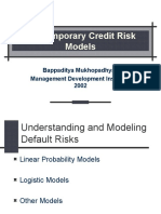 Credit Risks & Portfolio Selection
