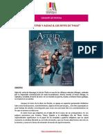 DOSSIER PRENSA Comic Astrid y Audaz Editorial Serendipia