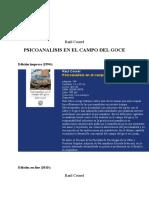 Raul_Courel_1994_LIBRO_Psicoanalisis_en