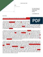S2 Eng Kian Hao Practice of Informal Letter