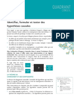Hypotheses Causales