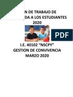 plan de bienvenida 40102-2020