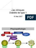 physiopatho diabete