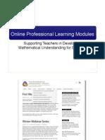 Intro Math Understanding Module