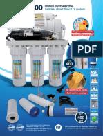 RO400 osmosi inversa diretta - Manuale (ITA/ENG)