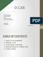 Presentation on Hybrid Car-MGT