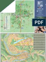 140129-Carte Touristique Et Plan de Cahors
