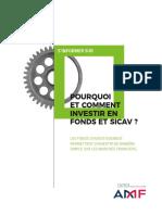 Pourquoi et comment investir en fonds et SICAV