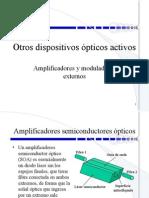 11 Amplificadores y moduladores opticos