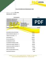 PORTAFOLIO ENDODONCIA 2020