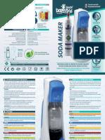 Soda Breezy S gasatore acqua kit starter completo - Manuale (ITA/ENG)