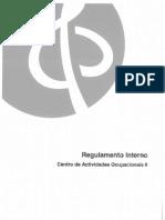 Exemplo de Regulamento Interno