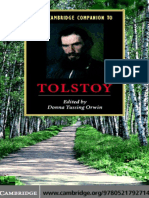 Orwin d t the Cambridge Companion to Tolstoy