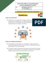 MATERIAL DE APOYO -  INICIACION EN LA DOMOTICA