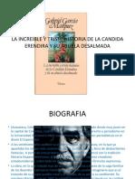 LA INCREIBLE Y TRISTE HISTORIA DE LA CANDIDA