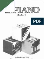 Bastien Piano Basico Piano Nivel 4