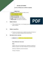ESCUELA DE PADRES 3 DE MARZO