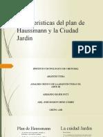 Características del plan de Haussmann