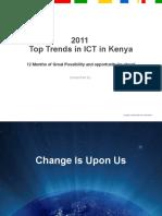 Google 2011 Top Trends in ICT in Kenya