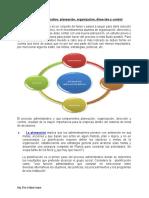 Contenido tematico Proceso administrativo