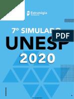 7 Simulado UNESP 2020