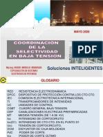 01 Coordinacion de La Selectividad Baja Tension Abril 2020