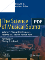 HOLLAND, C. K. - The Science of Musical Sound