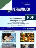 A Dinâmica Da População Mundial de Acordo Com as Teorias Populacionais