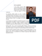 LA MUERTE DE ABDÓN CALDERÓN