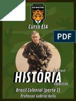 HISTÓRIA BR - Ex. - Brasil Colonial (Parte 2)