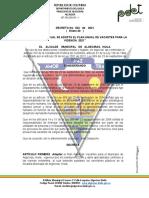 Decreto 023 -Plan Anual de Vacantes 2021