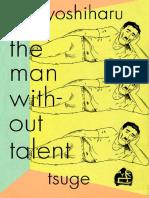 Yoshiharu Tsuge - The Man Without Talent