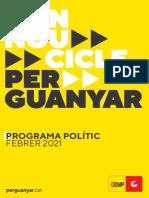 Programa electoral de la CUP