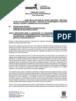 Circular SII 001-2021 - Gobiernos Escolares e Instancias de Participación
