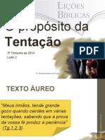 PROPOSITO DA TENTAÇAO