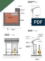 Detalle Refugio Peatonal