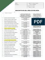 COMENTARIOS DESCRIPTIVOS, DE RELIGIÓN FINAL 2020