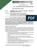 OFICIO MULTIPLE 2021 PRECISIONES PARA EL PROCESO DE MATRICULA 2021