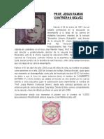 Biografia Jesus Ramon Contreras