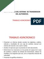 Transmisión automovil Trabajo Investigación