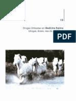 19 - Drogas Utilizadas Na Medicina Equina (1)