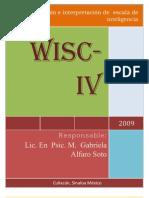 WISC IV Curso Culiacán