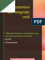 Trastornos Del Lenguaje Oral