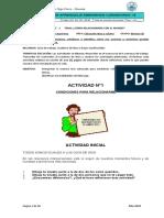 Guía Estudiante Ética primer periodo grado 9