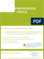 Demarche de La Comprehension Orale